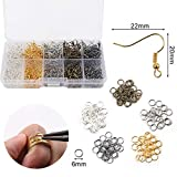 SGHUO 30pcs Leather Earring Making Kit Include 4