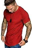 COOFANDY Mens Workout Bodybuilding Tshirt Gym Tee