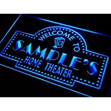 Name Personalized Custom Home Theater LED Neon Sign Light mancave