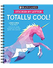 Brain Games - Sticker by Letter: Totally Cool! (Sticker Puzzles - Kids Activity Book)