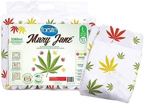 Forsite Mary Jane Max Absorbency Briefs (Medium) (Large-36