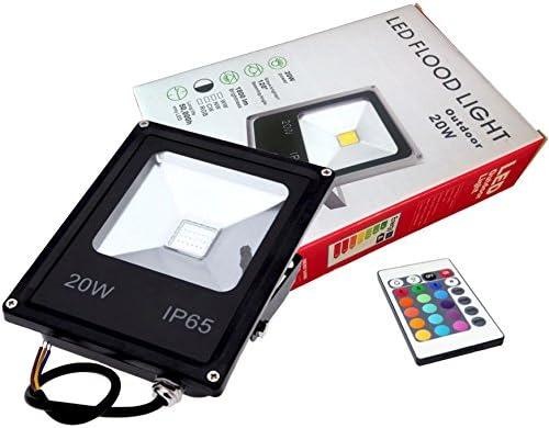 FOCO PROYECTOR LED RGB 20W con Mando Remoto - Exclusivo con ...