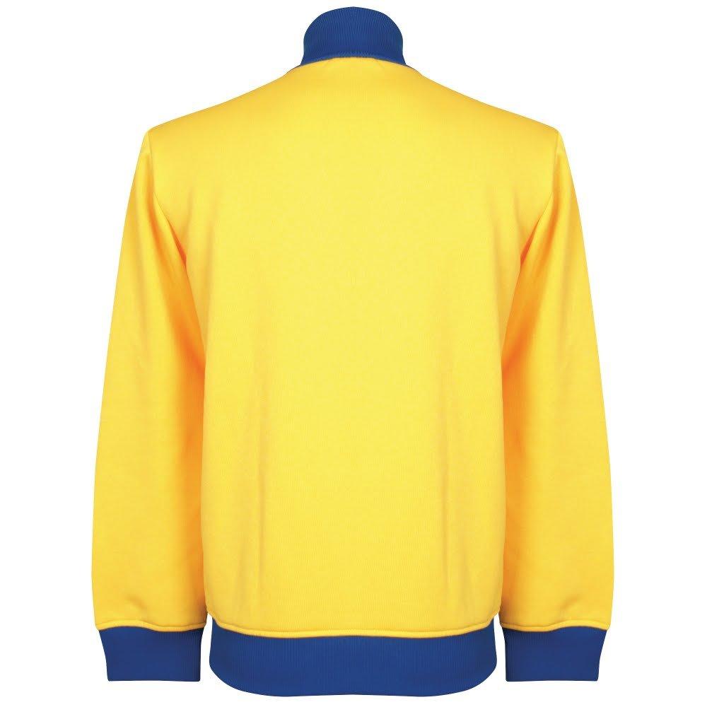 1970 es Suecia Chándal superior Amarillo amarillo Talla:XXL ...