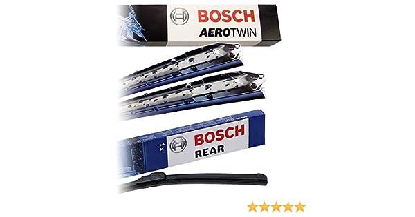 Juego de limpiaparabrisas Bosch Aerotwin A555S + limpiaparabrisas ...