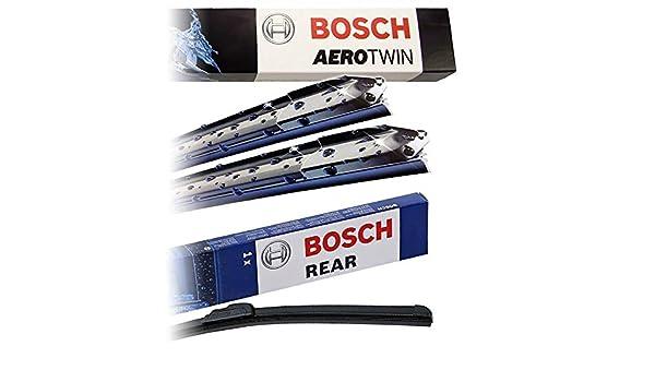 Juego de limpiaparabrisas Bosch Aerotwin A297S + limpiaparabrisas ...