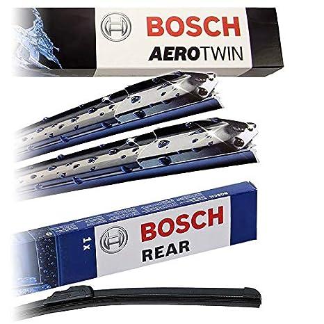 Juego de limpiaparabrisas Bosch Aerotwin A555S + limpiaparabrisas trasero A251H: Amazon.es: Coche y moto