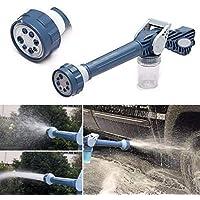 Shreeji Jet Water Cannon 8 in 1 Turbo Water Spray Gun for Gardening, Car Wash, Home Cleaning