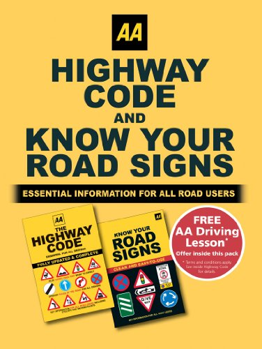 AA Highway Code and Know Your Road Signs