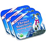 St. Claire's Organics® Throat Soothers, 1.38 oz Tin (Bundle of 3)