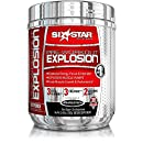 Six Star Pre-Workout Explosion, Fruit Punch, 0.46 lbs (207g) (Packaging may vary)
