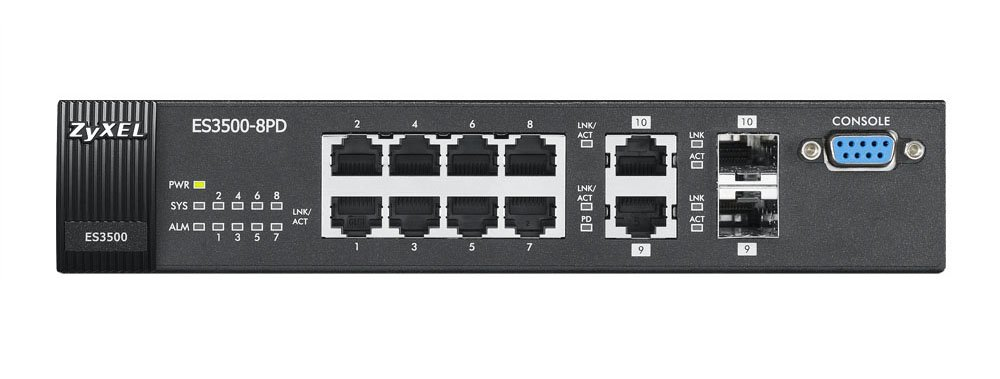 Driver UPDATE: ZyXEL ES3500-8PD Switch