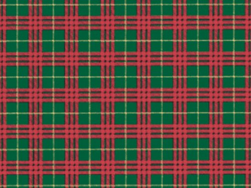 Tartan Gift Bags (Holiday Tartan PLAID Christmas Gift Wrap Wrapping Paper - 16ft Roll)