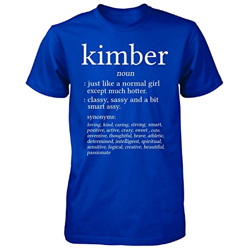 Kimber Name Meaning. Dictionary Format. Funny Gift - Unisex Tshirt