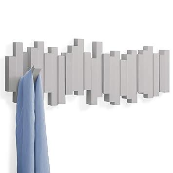Amazon.com: TELLMNZ Perchero de pared con múltiples ganchos ...