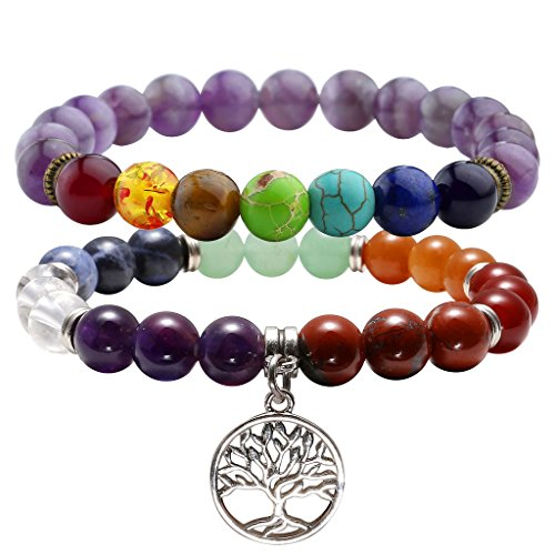 Chakras Meditation Healing Balancing Bracelet