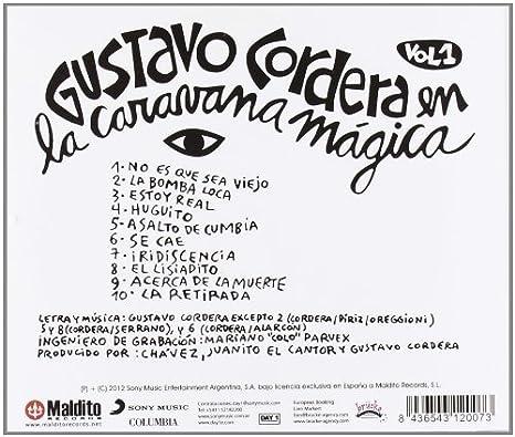 Gustavo Cordera En La Caravana Magica Cd: Gustavo Cordera ...