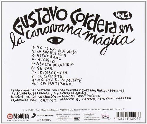 Gustavo Cordera En La Caravana Magica Cd: Gustavo Cordera: Amazon.es: Música