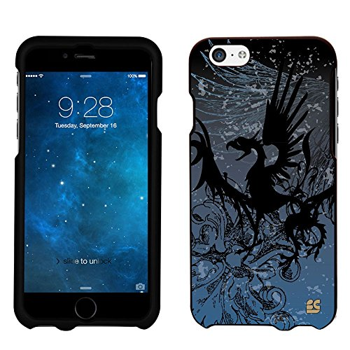 iPhone 6 Case, Spots8® Hard Plastic Slim Fit [Phoenix Rising] Case Covers Compatible with iPhone 6 (AT&T/Verizon/Sprint/T-Mobile/Boost Mobile/US Celluar)