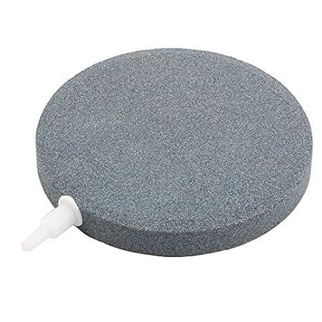 DealMux Mineral acuario pecera redonda Difusor de oxígeno de la burbuja de aire de 120 mm Diámetro de piedra: Amazon.es: Productos para mascotas