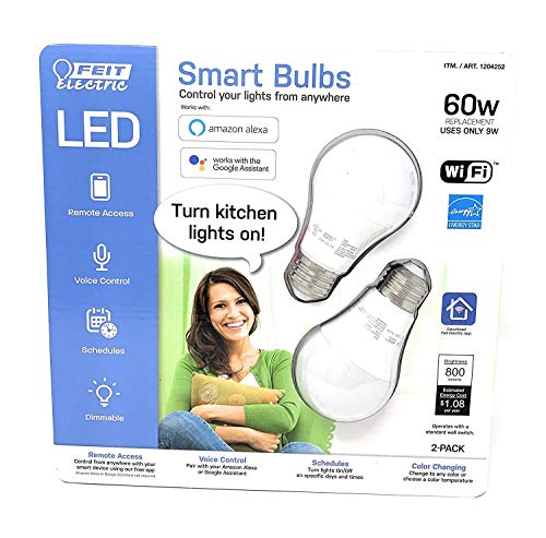 Smart WiFi Bulb Color Changing and Tunable White (4 of pack)