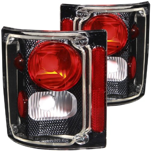 Anzo USA 211015 Chevrolet Carbon Tail Light Assembly - (Sold in - Blazer Lens Tail Light Chevrolet