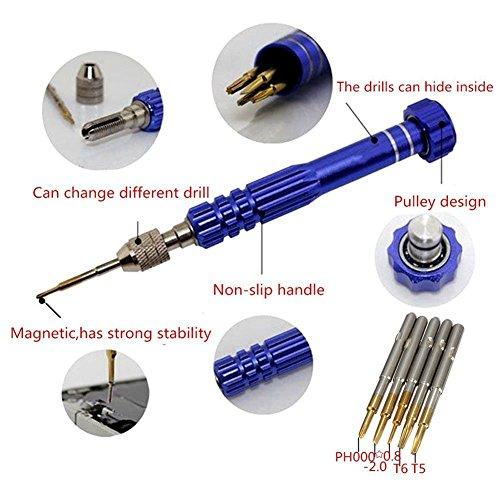 5 in 1 magnetic repair tools precision opening screwdriver kit set for macboo. Black Bedroom Furniture Sets. Home Design Ideas