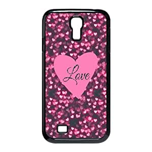 Snap On Protection Love Pink Design Custom Back Cover Case For SamSung Galaxy S4