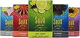 6 Boxes of 50g Soex 100% Shisha Herbal Molasses-300 Gr Hookah Flavor-Free nicotine