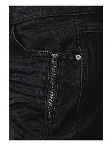 Donna Denim Schwarz Jeans 10273 black Slim Cecil ZxqEwS4w