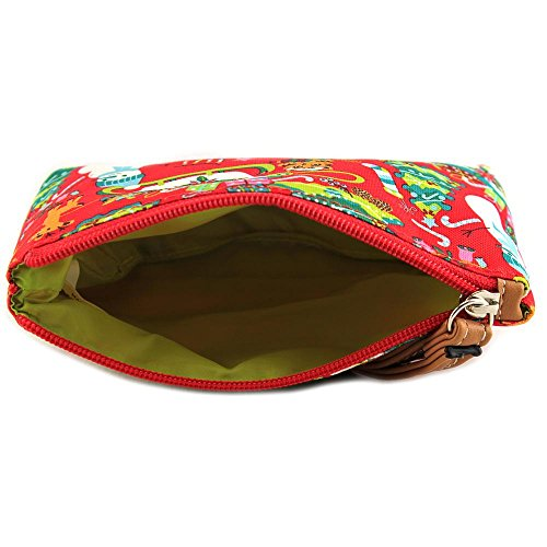 Lily Bloom Kaylee Cosmetic Bag Donna Rosso