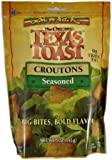 New York Texas Toast Croutons Seasoned, 5-Ounce Bags (Pack of 12)