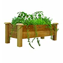 Gronomics RPB 18 - 48 18-Inch by 48-Inch by 19-Inch Rustic Planter Box Unfinished