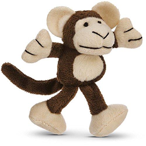 (Leaps & Bounds Cuddle Monkey Catnip Cat Toy, 4.5