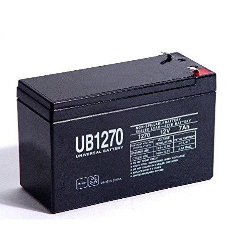 UPG Security Alarm System Battery 12V 7.2Ah SLA Security Certified-Electronics by Universal Power Group