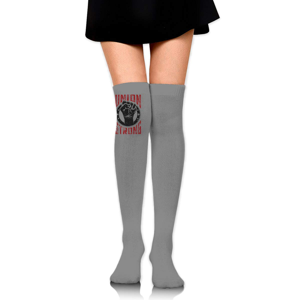 Union Strong Long Tight Thigh High Socks Over The Knee High Boot Stockings Leg Warmers