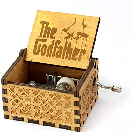 VDV Caja de música Caja de música Antigua Tallada de Juego de ...