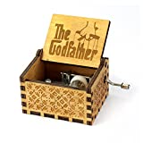 The Godfather Music Box- 18 Note Mechanism Antique Carved Wooden Music Box Crafts (The Godfather)