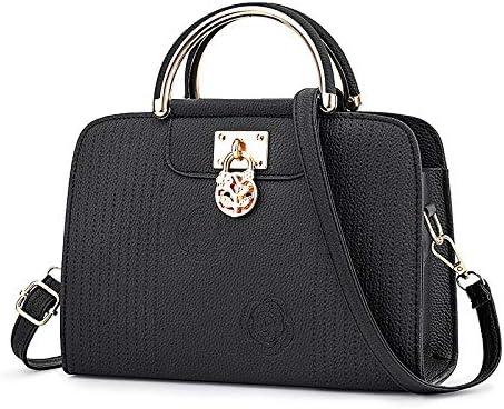 ビジネスバッグ、女性用ショルダーバッグ、クロスボディレザー2ウェイハンドバッグ、人気、防水、通勤用
