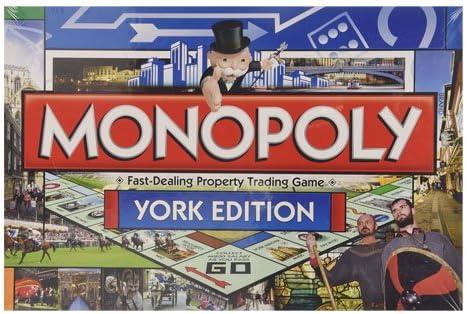 Top Trumps Monopoly - Edición York, versión en inglés (Winning Moves 16742): Amazon.es: Juguetes y juegos