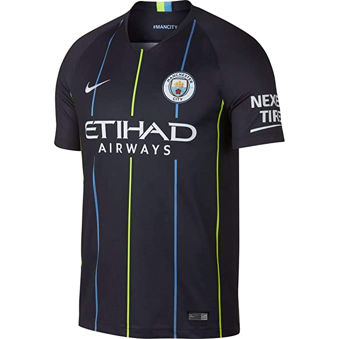 new style 5fd73 ef237 Amazon.com: NIKE Manchester City Away Stadium Soccer Jersey ...