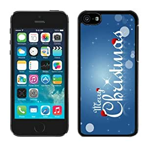 2014 New Style Iphone 5C TPU Case Merry Christmas Black iPhone 5C Case 50