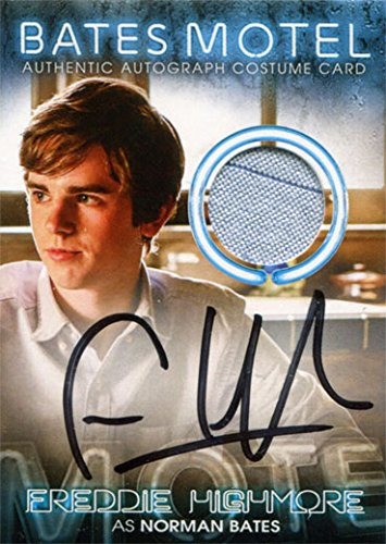Bates Motel Autograph Costume Relic BC4 Freddie Highmore as Norman (Norman Bates Costumes)