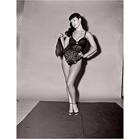Bettie Page pop art
