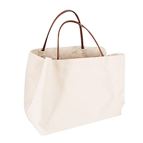 0401c5d0ab Borse di tela naturale biodegradabile e Earth friendly borsa a secchiello  in cotone per shopping,