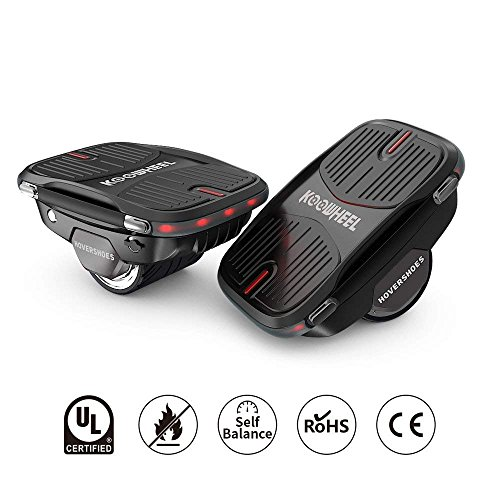 Koowheel Electric Self Balancing One Wheel Hovershoes Hoverboard | Portable Roller Drift Freeline Skate Hover Board Balance Scooter-UL 2272 Certificated/250W Dual Motor/8km/h Max Speed