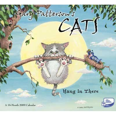 Gary Paterson's Cats Wall Calendar 2009