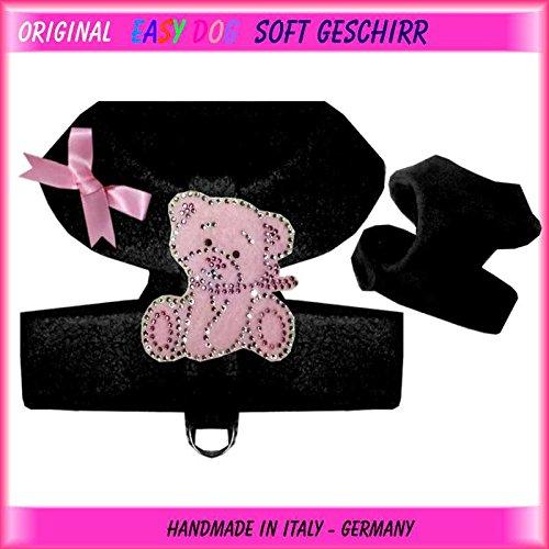 Easy & softgesc infantil para el pecho Arnés del Perro tamaño s negro Teddy: Amazon.es: Productos para mascotas