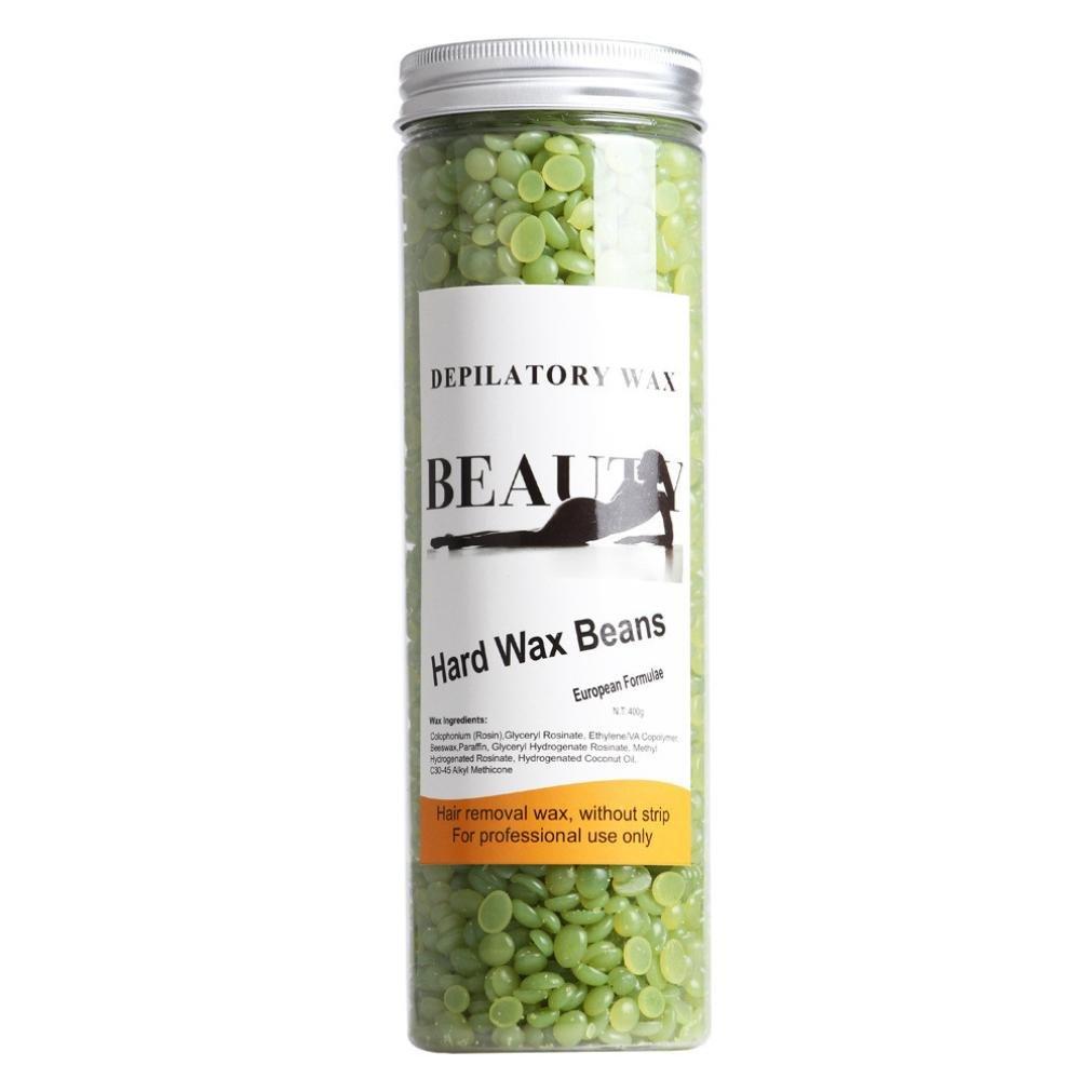 taottao no tira duro película caliente Cera depilatoria depilación cera de Pellets Bean, lo mejor de su tipo, muy eficaz y fácil de usar, 450 g: Amazon.es: ...