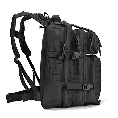 Amazon.com   REEBOW GEAR Military Tactical Assault Pack Backpack Army Molle  Bug Out Bag Backpacks Small Rucksack for Outdoor Hiking Camping Trekking  Hunting ... 8907e9bebc118