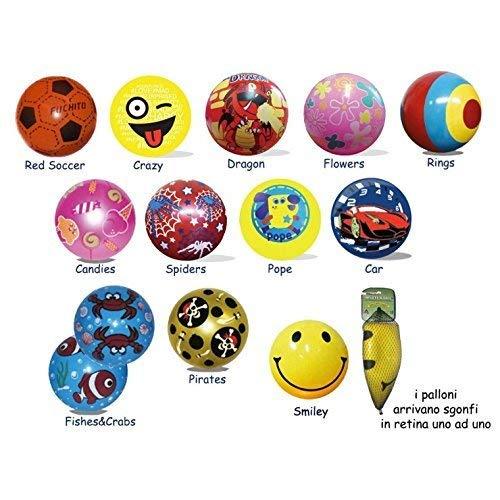 Publilancio SRL 12 piezas pelota Balón de playa hinchable Varios ...